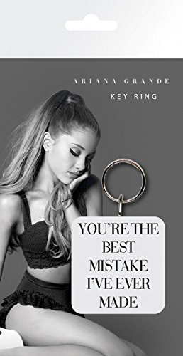 Ariana Grande - Best Mistake Llavero (15 x 7cm): Amazon.es ...