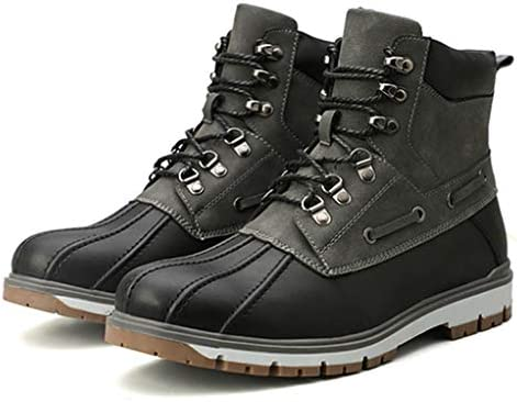 イギリス風 大きいサイズ ムートンブーツ メンズ 短靴 厚底 シンプル 痛くない 防水 防寒 ウインターブーツ 選べる内側2タイプ 軽量 歩きやすい アウトドア 防水 カジュアル マーティンブーツ 作業靴 綿靴