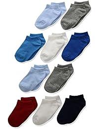 Boys' Toddler Low Cut Sock 10-Pack