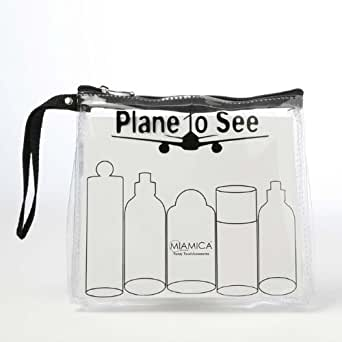 "Amazon.com: Trendy Cool ""Plane to See"" Black TSA Compliant"