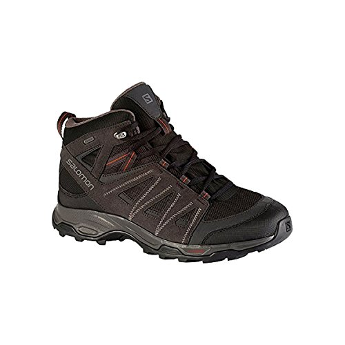 Salomon Trekking & Hiking Boots Ravenrock Mid Gtx BLACK/ASPHAL/ORANGE