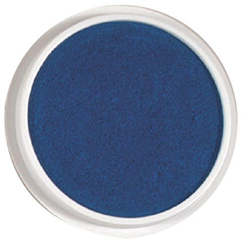 Center Enterprise CE6604 READY2LEARN Circular Washable Pad, Blue (Pad Stamp Washable Blue)