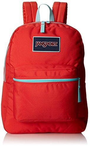 JanSport Superbreak Mochila Coral Dusk/Aqua Dash