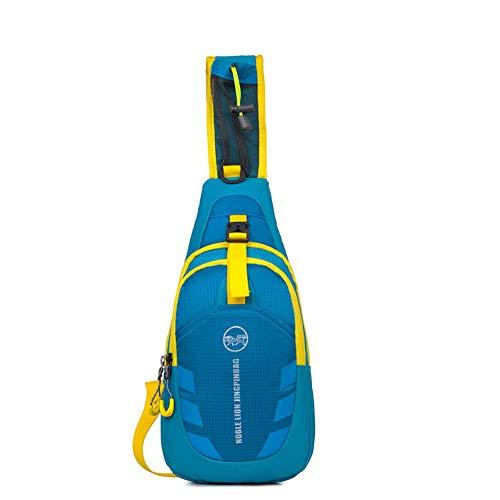 Bolsos Mujeres Mochila la Ocio Azul Honda Multicolor de Pequeño cómodo portátil Day Color Xuanbao Cuerpo y Aire Hombro Cruzado Libre Cofre al Bag Hombres Mini dqXxZwqY