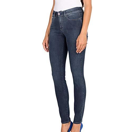 moca Extra Para Hoc Ajustados Denim Mujer Elásticos Suave Tempore En Italia Fabricados Azul Jeans AvpvOwfF