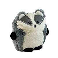 Intelex Hooty Friends Badger Microwavable Heatable Plush