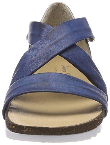 Andrea Conti 1675703, Women's Heels Sandals Blue (Jeans 274)