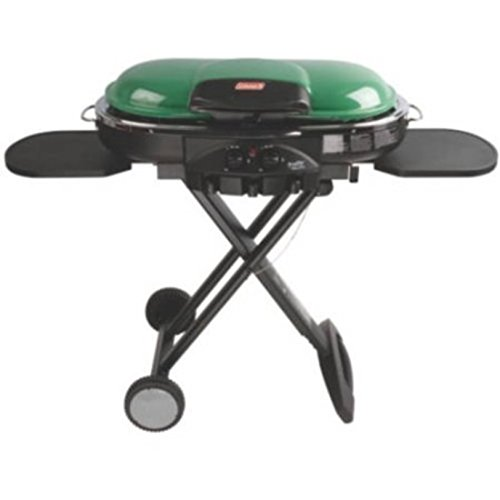 RoadTrip LXE Portable 2-Burner Propane Gas Grill (Green)