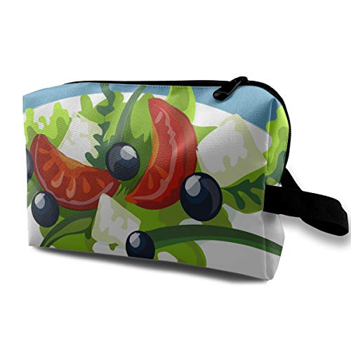 - Storage Bag Travel Pouch Salad Purse Organizer Power Bank Data Wire Cosmetic Stationery Holder