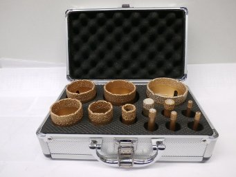 Vacío brazet M14 - Juego de brocas con maletín - Aluminio: Amazon.es: Bricolaje y herramientas