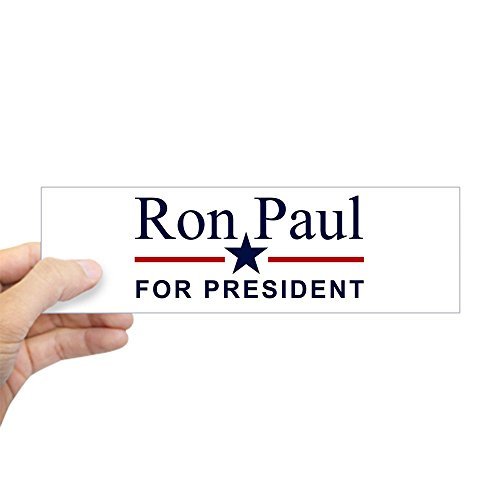 CafePress Ron Paul For President Bumper Sticker 10
