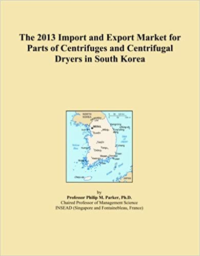 Book The 2013 Import and Export Market for Parts of Centrifuges and Centrifugal Dryers in South Korea