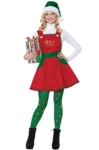 Men's Night Elf Costumes - California Costumes Women's Elf in Charge-Adult
