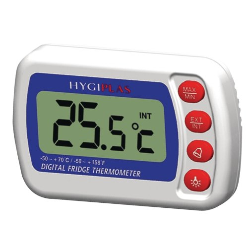Hygiplas F343 Thermomè tre pour ré frigé rateur/congé lateur Numé rique 6035