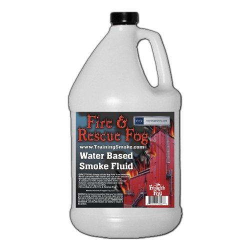 Fire and Rescue Fog Smoke Fluid Juice - Gallon (Halloween Smoke Machine)