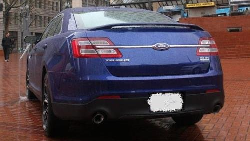 2013 2014 Ford Taurus Spoiler Painted UH - Ford Taurus Spoiler