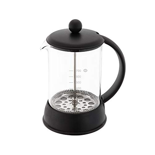 AOZIKA-Cafetera de Prensa Francesa Perfecta para Café o Té,Cafetera de Vidrio.Cafetera de Máximo Sabor con Sistema de…