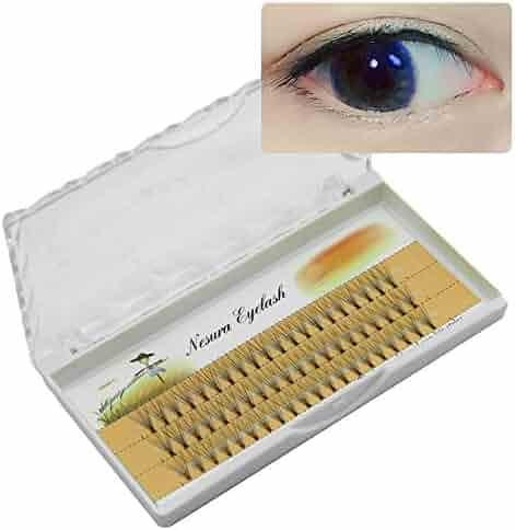 fc00a2b656b CLLUZU False Eyelashes Hypoallergenic Thickness 0.07mm Length 8/9/10/11/
