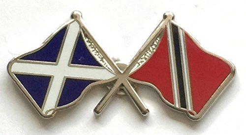 Écosse & Trinidad Drapeaux d'amitié avec Pin's (épinglette Badge en émail