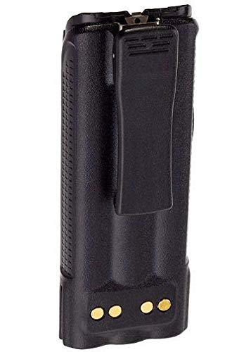EF-Johnson 5100 Battery Replacement with Belt Clip 7.5v 3600mAH Ni-MH (Ef Johnson Radio)