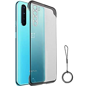 Amozo Back Cover for OnePlus NORD(Poly Carbonate;TPU/Transparent)