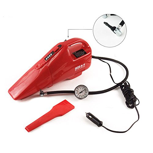 HITSAN Coido 6022 12V 55W Multi-function Car Vacuum Cleaner Red One Piece by HITSAN (Image #8)