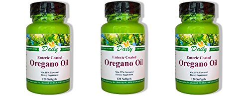 Daily Manufacturing -Oregano Oil |120 Softgels, 3 Pack by Daily Manufacturing