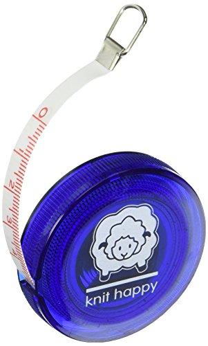 Knit Happy Tape Measure-Blue