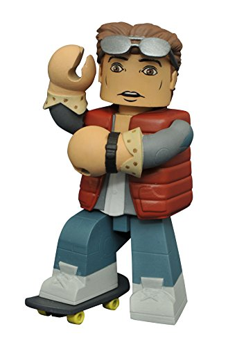 Diamond Select Toys Back To The Future Marty McFly Vinimate Vinyl Figure (Marty Mcfly Outfit)