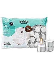BOLSIUS 90 Long Burn 8 Hour Tea Lights Professional Tealights Candles