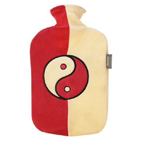 Fleece Hot Waterbottle - Yin-Yang by Fashy