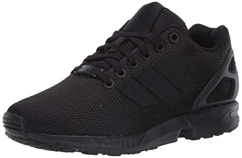 adidas Originals Men's ZX Flux Sneaker, Black, 13.5 M US