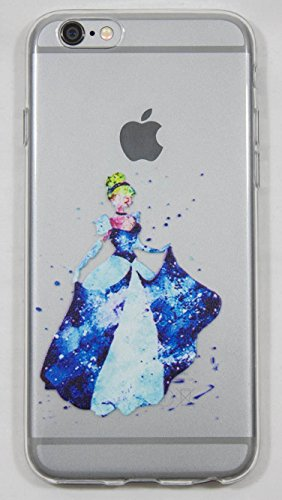 Coque iPhone 6 / 6S Cendrillon en silicone