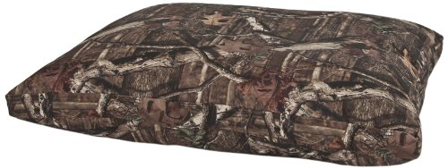 Mossy Oak Gussetted Pillow Dog Bed, 27-Inch by 36-Inch, Mossy Oak Camoflage Pattern, My Pet Supplies