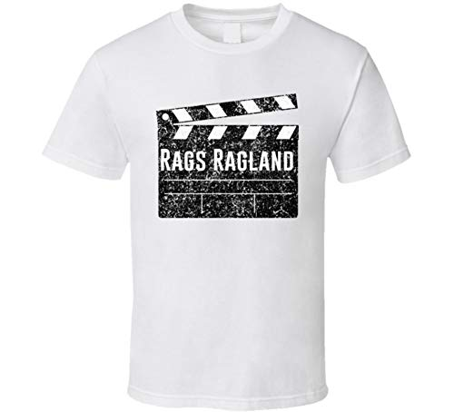 Rags Ragland Director Movie Parody Comedian Comedy Worn Look Cool Fan T Shirt L White