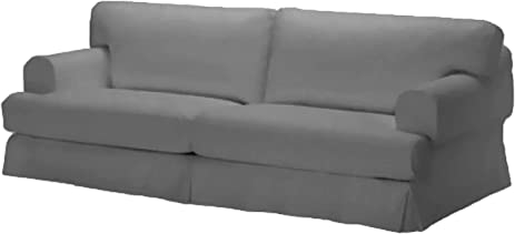 Durabale Dense Cotton Three Seat Hovas Sofa Cover Replacement Is Custom  Made For Ikea Hovas 3
