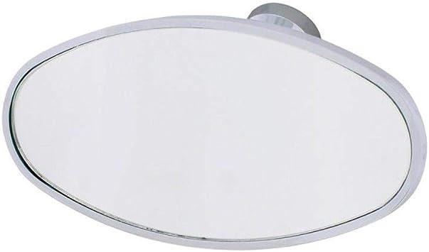 "Polished Billet Aluminum 5 1//2/"" Rear View Mirror Ball Milled Hot Rod Street Rod"