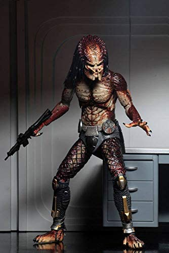 NECA - Figurine Predator 2018 - Fugitive Predator Ultimate 20cm - 0634482515815