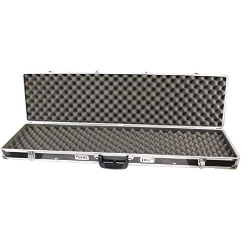SRA Cases EN-AC-FG-A486 Aluminum Hard Case for Rifle Shotgun, 44 x 11.4 x 4