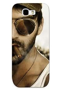 Podiumjiwrp Galaxy Note 2 Hybrid Tpu Case Cover Silicon Bumper Guy In Sunglasses Smoking A Cigar