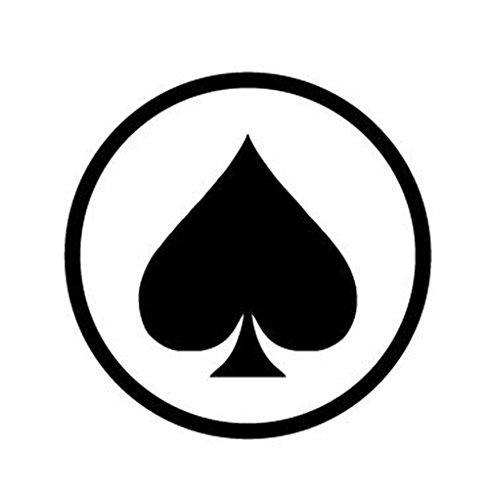 Ball Stamp (Golf Ball Stamper / Marker. Ace of Spades)