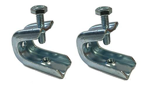 Fireplace Damper Stop, Damper Flue Clamp, or Safety Lock - Set of 2