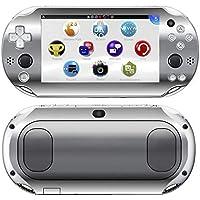 Kit Skin Adesivo Protetor PS VITA Playstation 2000 Slim (Cromado)
