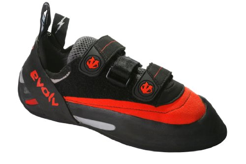 Evolv Men's Bandit SC Climbing Shoe,Red/Black,6.5 M US by Evolv