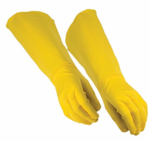 Forum Novelties Child Super Hero Gauntlet Gloves, Yellow