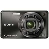 Sony Cyber-shot DSC-W290 12.1 MP Digital Camera with 5x Optical Zoom and Super Steady Shot Image Stabilization (Black) (Discontinued by Manufacturer) Basic Intro Review Image