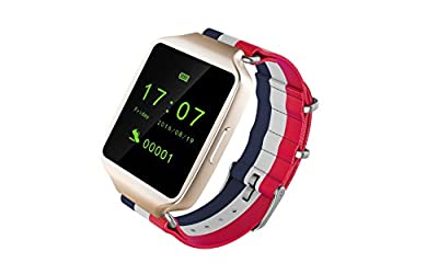 StarryBay Bluetooth Sweatproof Smart Watch Supports iPhone 5s/6/6 Plus/6s/6s Plus/7/7 Plus, iOS 7.0 and above, Android 4.4 OS and Above Smartphone