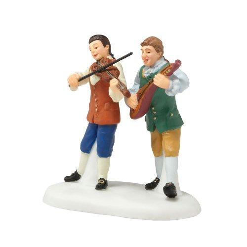 - Department 56 Williamsburg Village Tavern Balladeers Accessory Figurine