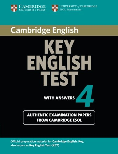 Cambridge English Key - Cambridge Key English Test 4 (KET Practice Tests)