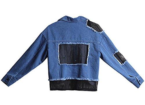 2017 neue Jeans lose Jacke Nähen kurze Jacke Jacke Jacke Gezeiten